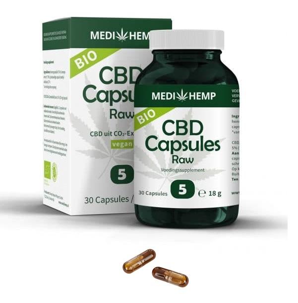 Medihemp CBD-capsules 750 mg