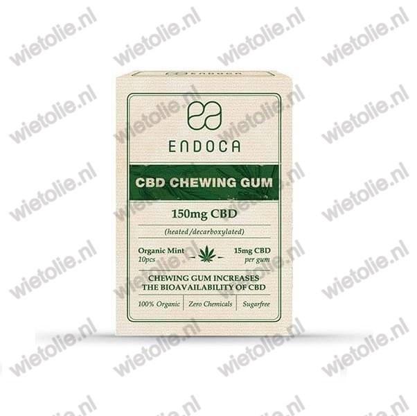 CBD-kauwgom Endoca verpakking