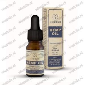 CBD-olie Endoca verpakking