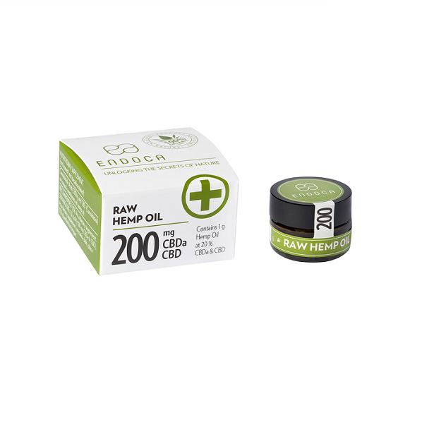 CBD-pasta Endoca 20% – 200 Mg