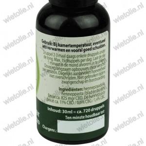 Jacob Hooy CBD-olie 30 ml