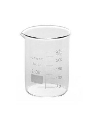 Bekerglas voor het maken van wietolie