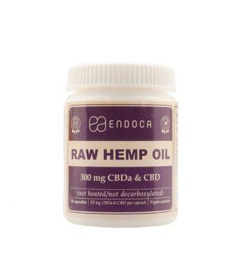 CBD-capsules raw Endoca