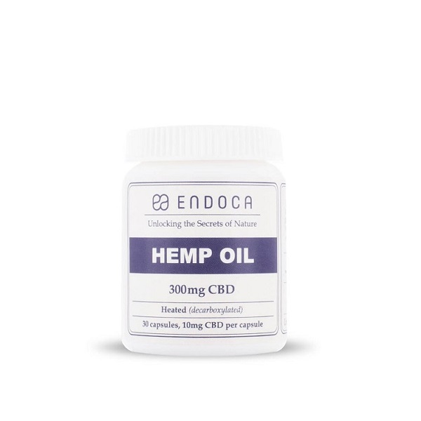 CBD-capsules Endoca – 300 Mg CBD