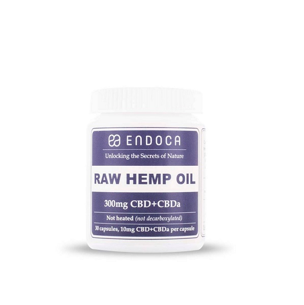 CBD-capsules Endoca (raw) – 300 Mg CBD