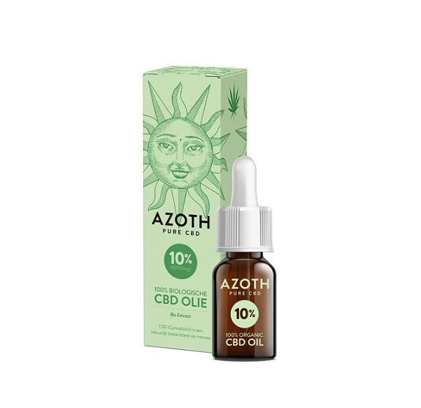 CBD-olie (puur) Azoth 10% – 10 Ml – 1000 Mg CBD