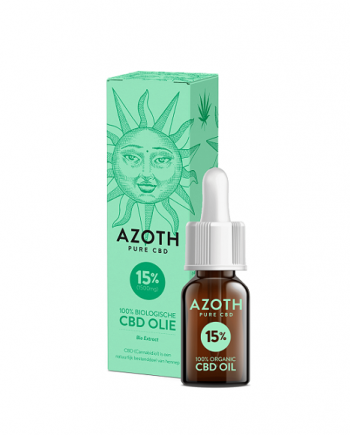 Cbd-olie Azoth 10 ml - 15 procent CBD