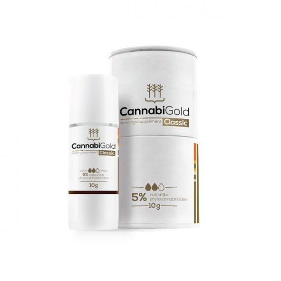 CBD-olie Cannabigold 5 procent 10 ml