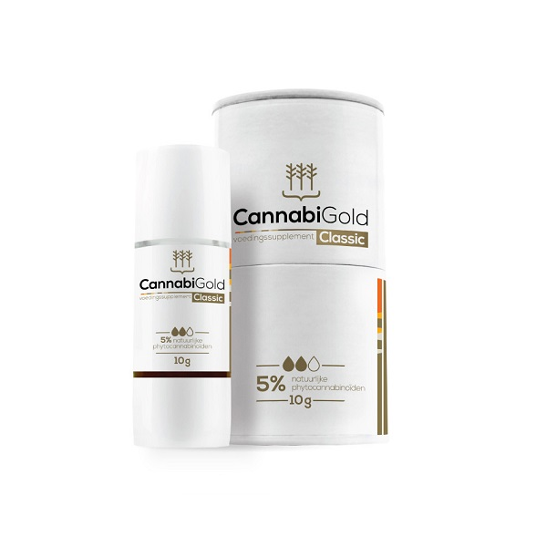 CBD-olie (puur) Cannabigold Classic 5% – 11 Ml