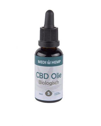 CBD-olie-biologisch-Medihemp-5-procent-30-ml-nootsmaak