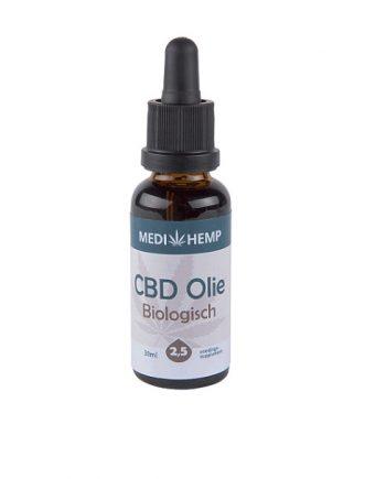 CBD-olie-biologisch-Medihemp-twee-en-half-procent-30-ml-nootsmaak