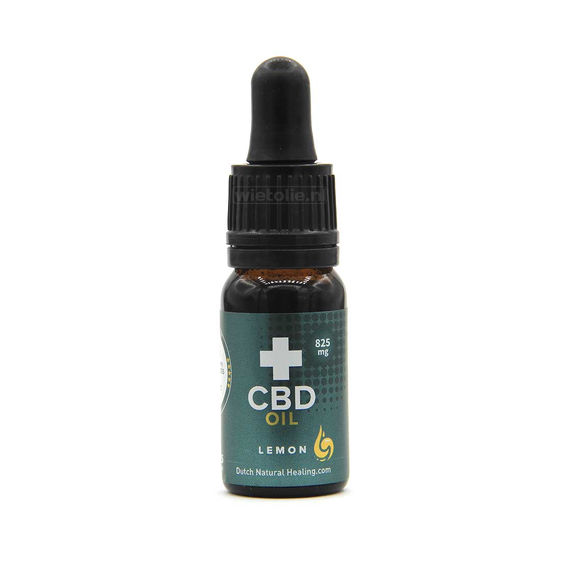 CBD-olie (raw) DNH 8% – 10 Ml – Citroen – 825 Mg CBD