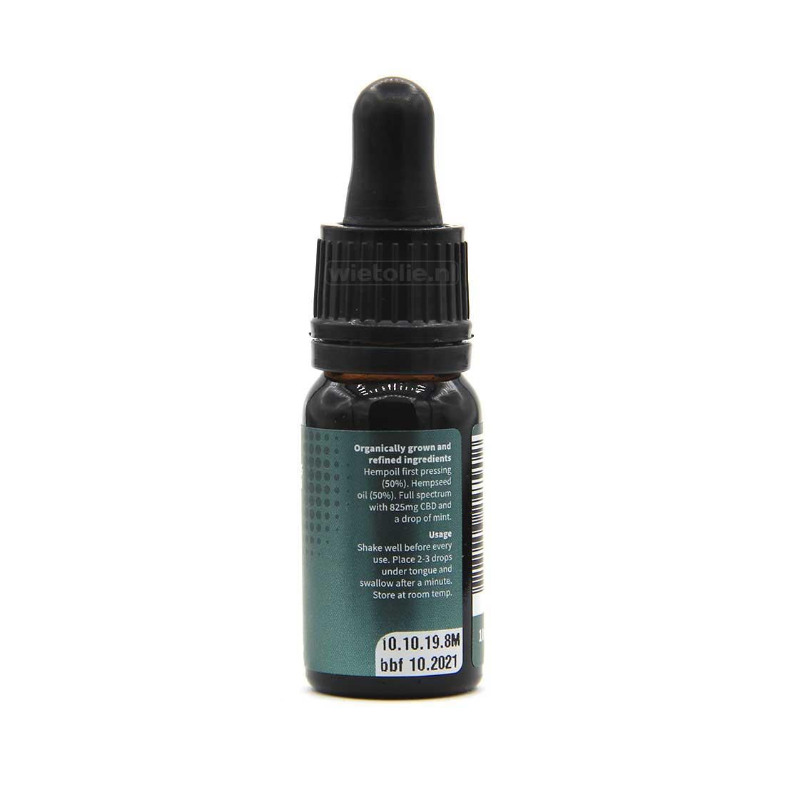 CBD-olie-Dutch-Natural-Healing-8-procent-10-ml-mint-3