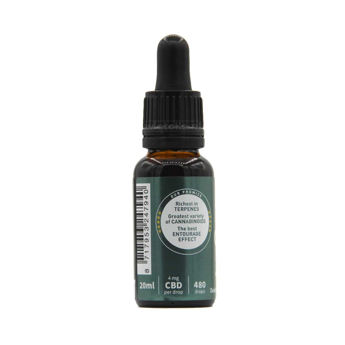 CBD-olie Dutch Natural Healing 8 Procent 20 Ml Naturel 2