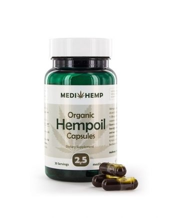 Medihemp CBD-capsules 375 mg