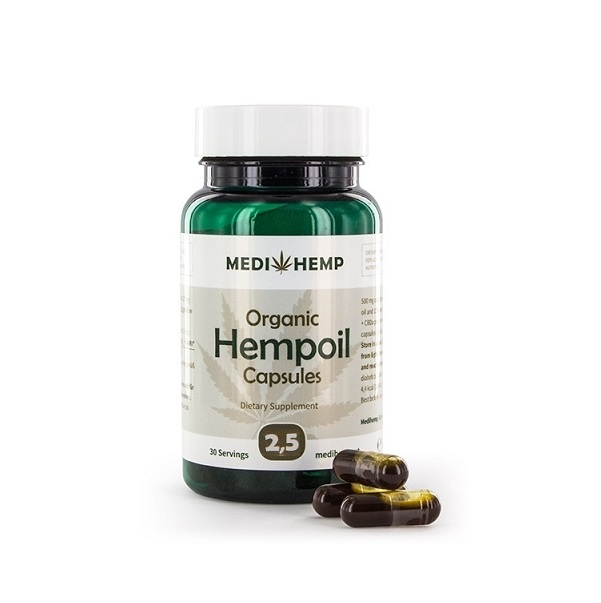 CBD-capsules – Medihemp – 375 Mg CBD