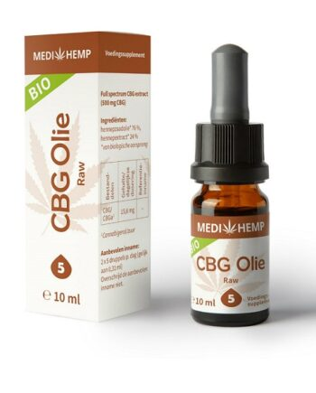 CBG olie Medihemp 10 ml 500 mg CBG