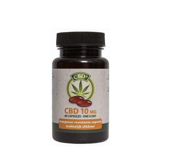 CBD Capsules – Jacob Hooy – 600 Mg CBD
