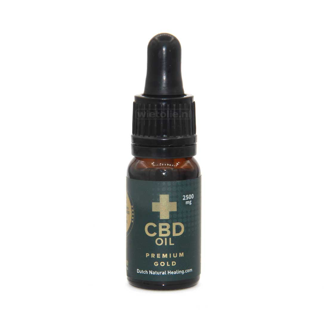 CBD-olie (raw) DNH Gold Edition 25% – 10 Ml – 2500 Mg CBD