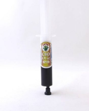 CBD-olie-spuit