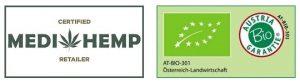 Medihemp CBD-olie biologisch gecertificeerd en SKAL-gecertificeerd