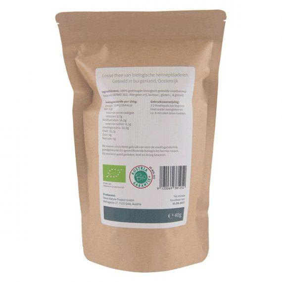 Losse-thee-van-biologische-hennepbladeren-Medihemp