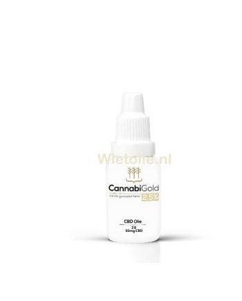Sample CBD-olie Cannabigold Wietolie