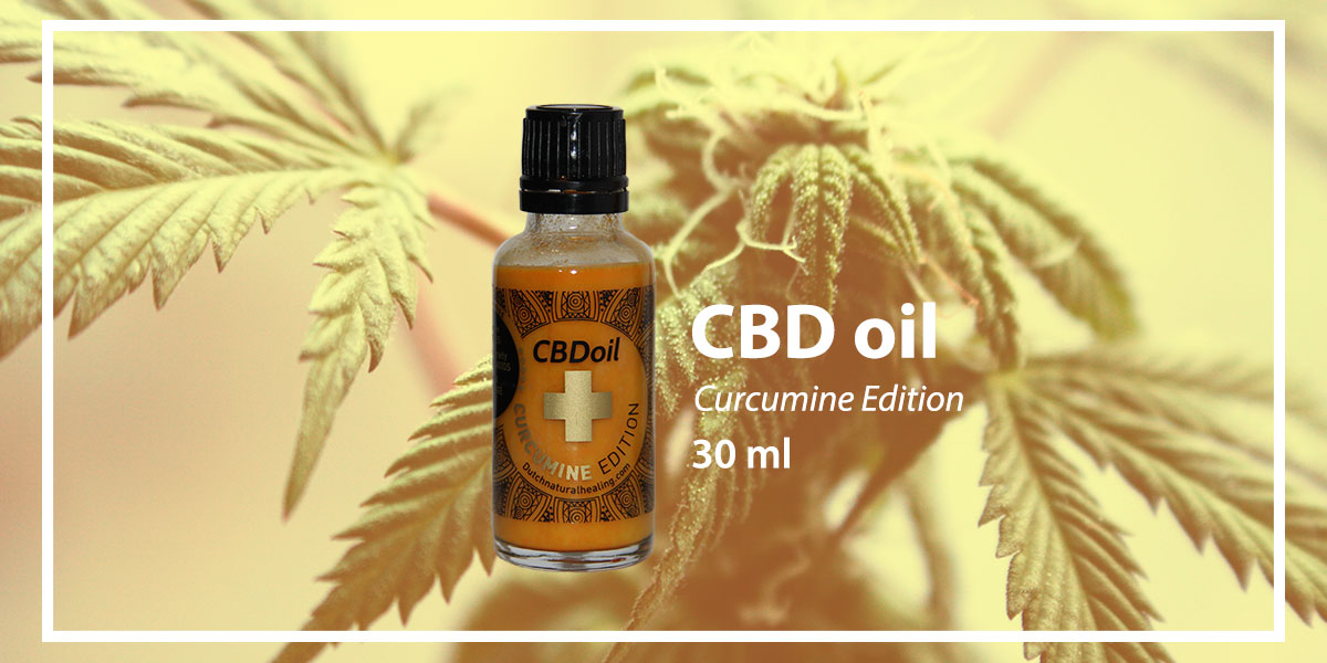 CBD-oil curcumine edtition 30 ml