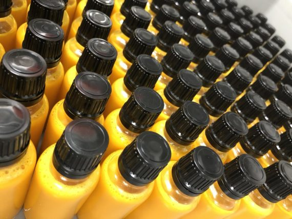 CBD-olie met curcumine