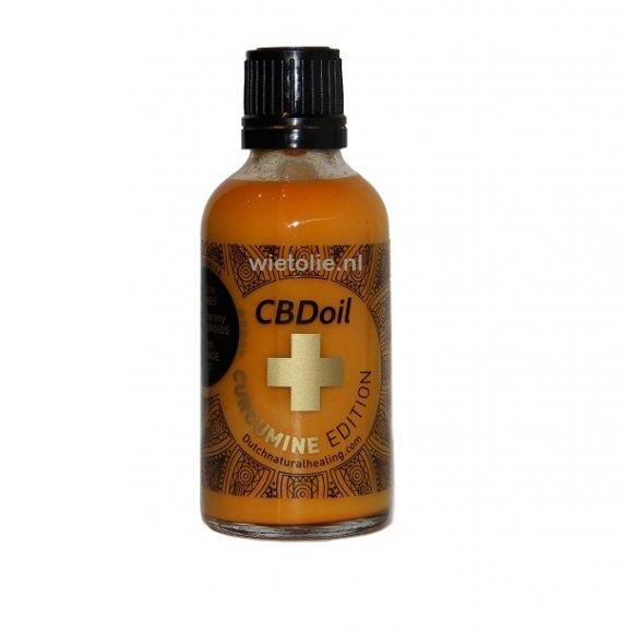 CBD (wateroplosbaar) DNH – Curcumine Editie – 50 Ml (500 Mg CBD)