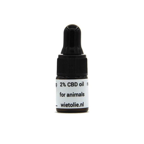 CBD-olie Dutch Hemp 2% – 2 Ml (dieren) – 40 Mg CBD – GRATIS PROEFFLESJE
