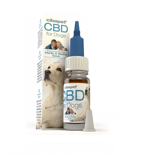 CBD-olie Cibapet 4% – 10 Ml (honden) – 368 Mg CBD