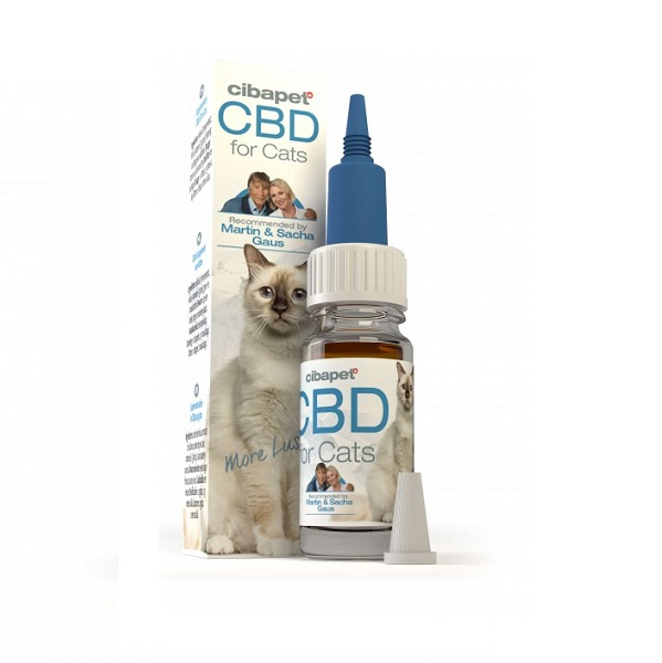 CBD-olie Cibapet 4% – 10 Ml (katten) – 368 Mg CBD