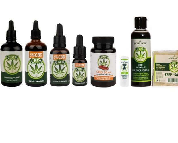 CBD producten de Tuinen Holland and barrett