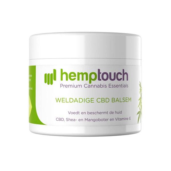 Weldadige CBD-balsem (zalf) Hemptouch – 50 Ml – 200 Mg CBD