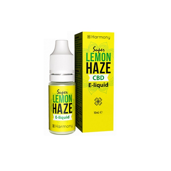CBD E-liquid Harmony – Super Lemon Haze – 600 Mg CBD