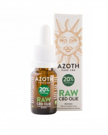 Cbd olie biologisch raw azoth 20 procent 10 ml