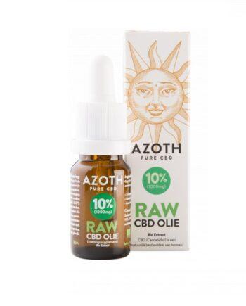 cbd olie biologisch raw azoth 10 procent 10 ml