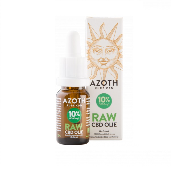 cbd olie biologisch raw azoth 10 procent 10 ml
