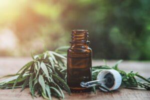 Biologische THC olie