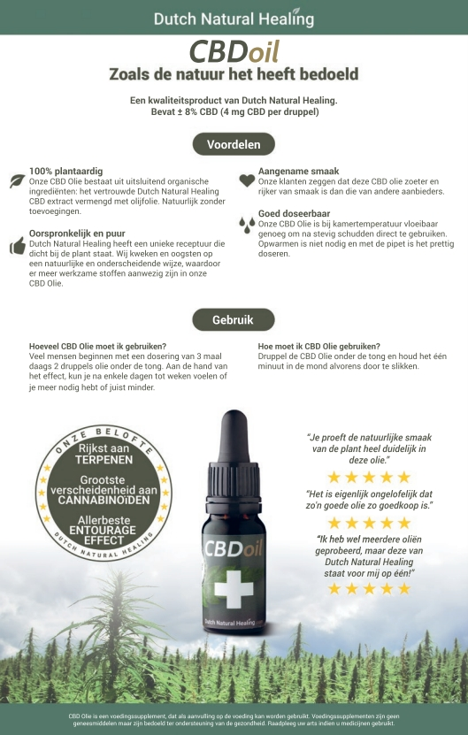 CBD-olie Dutch Natural Healing