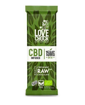 Lovechock chocola met CBD van Medihemp