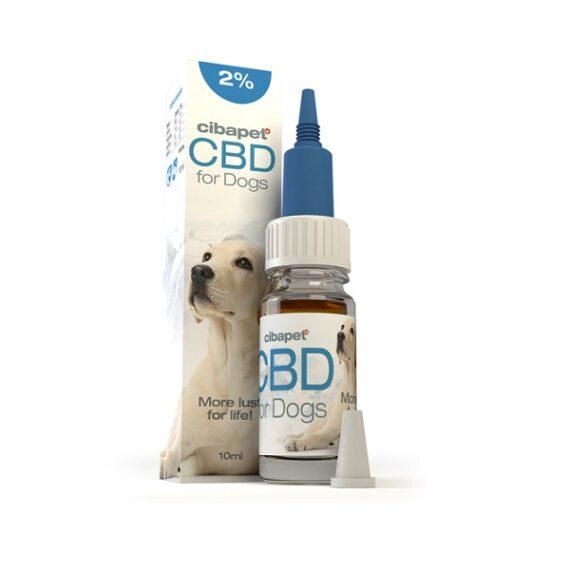 CBD olie voor honden van Cibapet twee procent 10 ml