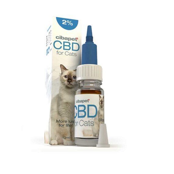 CBD olie voor katten van Cibapet twee procent 10 ml