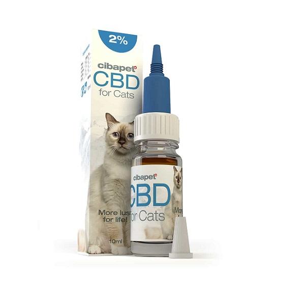 CBD-olie Cibapet 2% – 10 Ml (katten) – 200 Mg CBD