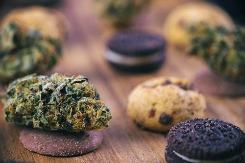 THC-edibles koekje