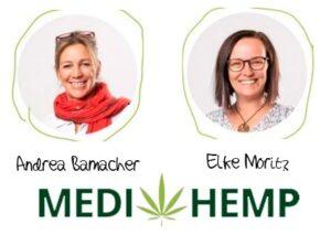 Andrea Bamacher en Elke Moritz oprichters van Medihemp