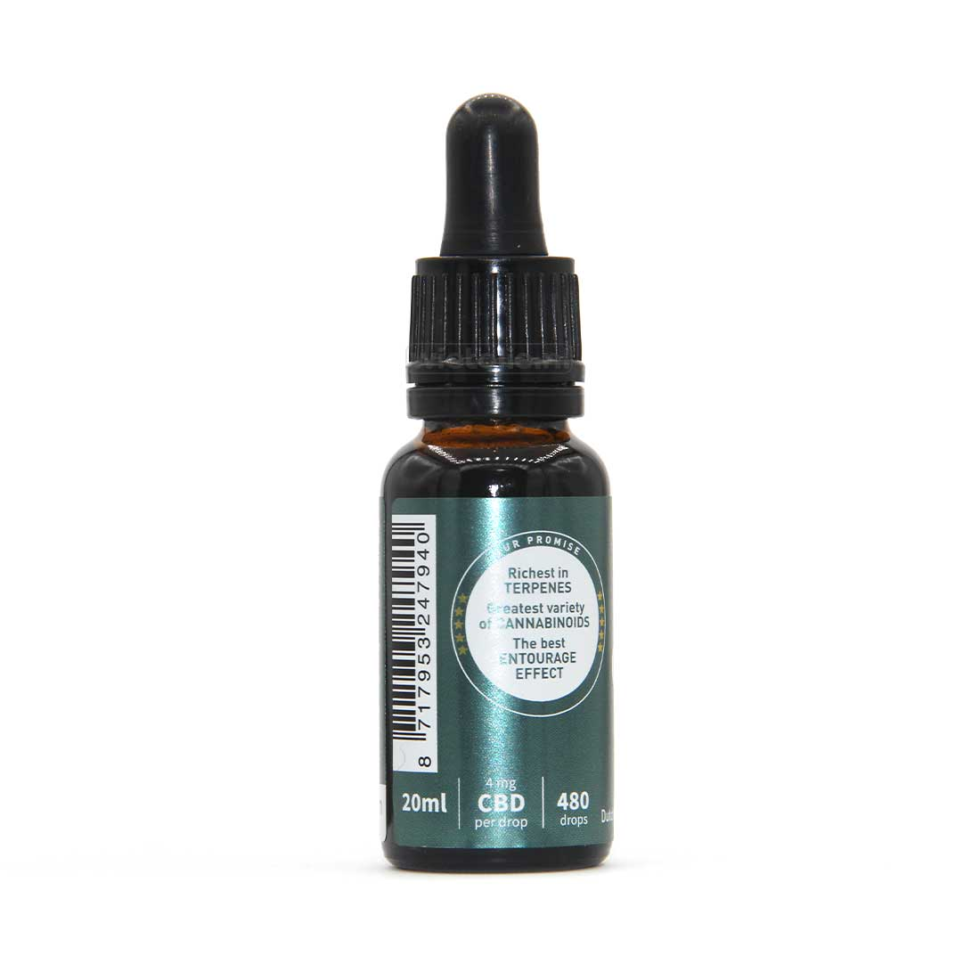 CBD-olie Dutch Natural Healing 8 Procent 20 Ml Mint 2