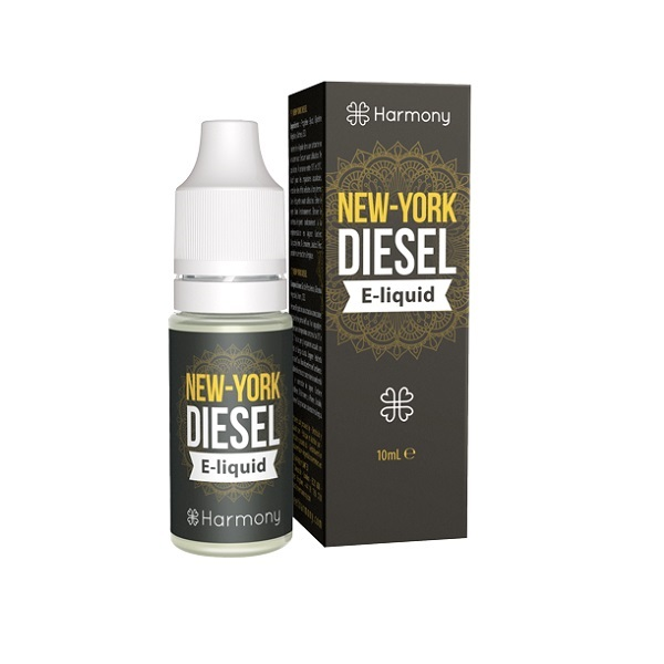 E-liquid (zonder CBD) Harmony – New York Diesel – 10 Ml
