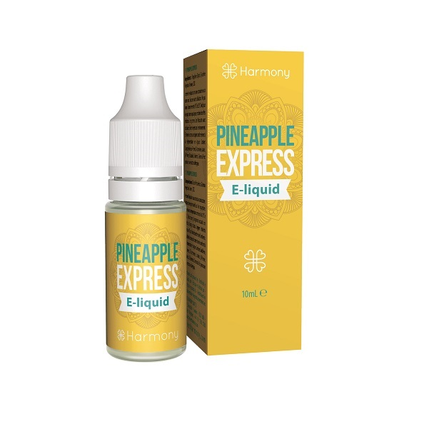 E-liquid (zonder CBD) Harmony – Pineapple Express – 10 Ml